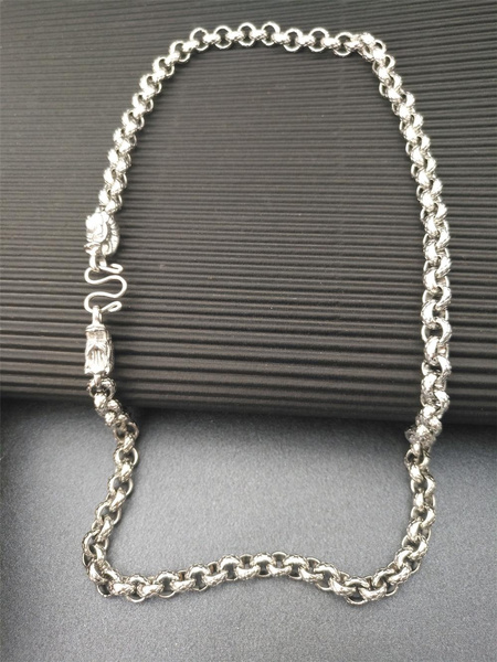 Steel, Men  Necklace, Stainless Steel, Jewelry
