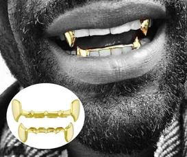 Hip-hop Style, goldplated, cosplayteeth, Cosplay