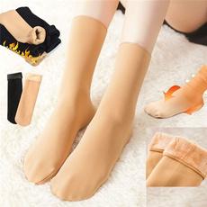 Cotton Socks, velvet, Winter, softsock