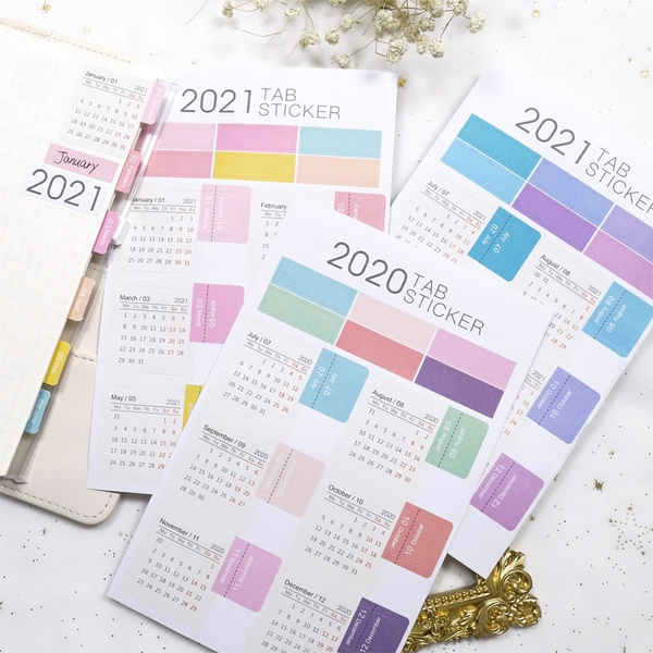 index, planner, tab, monthly