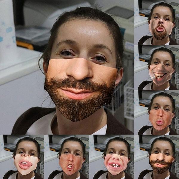 washable, mouthmask, Funny, unisex