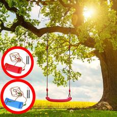 swingset, accompanyingtoy, yardtoy, parentchildinteraction