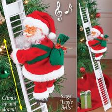 Toy, Christmas, santaclaustoy, electricsantaclau