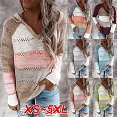 stitchingcolorsweater, Fashion, Sleeve, Long Sleeve