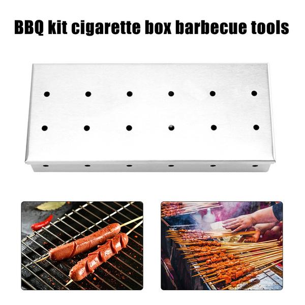 Box, Grill, smokerbox, Meat