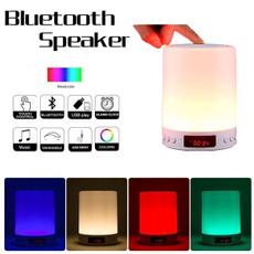 Night Light, Alarm Clock, Colorful, Mini Speaker