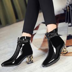 ankle boots, Fashion, Lace, bota