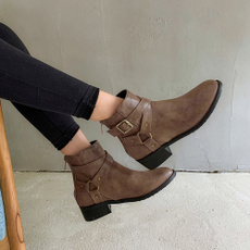 ankle boots, Shorts, Winter, bota