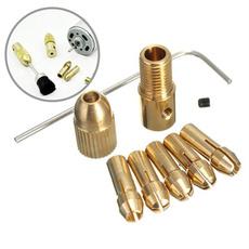 Brass, colletadapter, Adapter, colletchuck