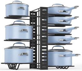 Heavy, kitchenpanpotstorageorganizer, Kitchen & Dining, potspansorganizerrack