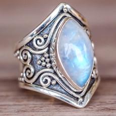 Antique, Sterling, Engagement, 925 sterling silver