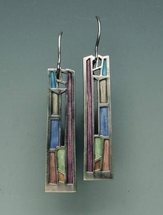 Sterling, Dangle Earring, Jewelry, Colorful
