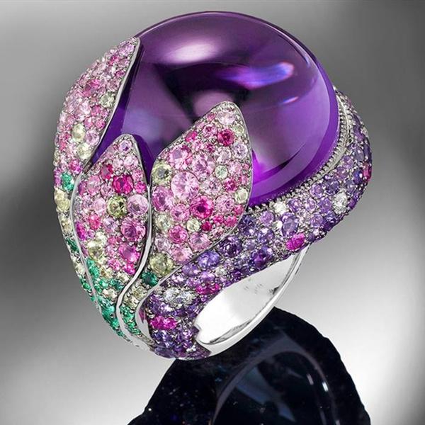 Sterling, DIAMOND, wedding ring, fulldiamond
