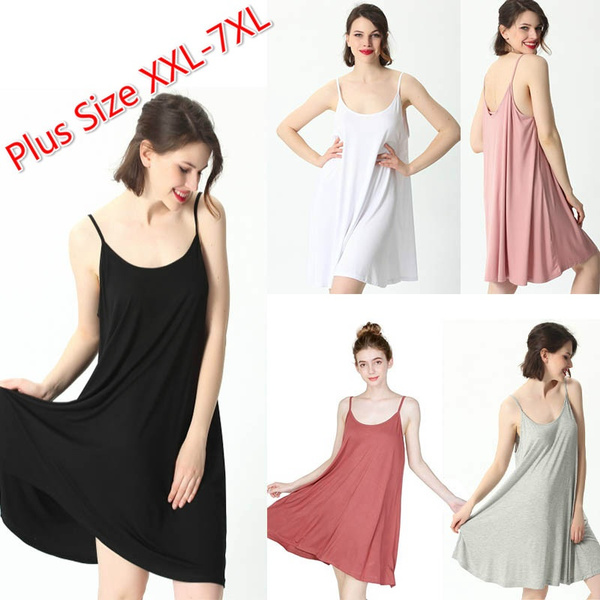 Summer, Plus Size, Shirt, Dress