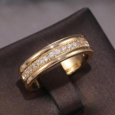 DIAMOND, wedding ring, gold, Yellow