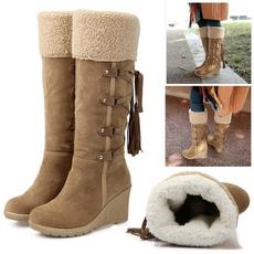 wedge, Fashion, fur, Winter