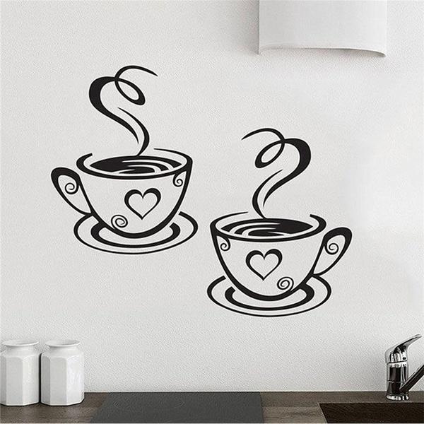 Beautiful, Coffee, art, Kitchen & Home