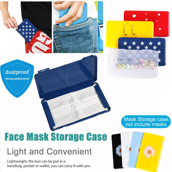 Storage Box, facemaskcontainer, maskcase, pillcase