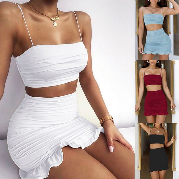 Summer, Fashion, ruffle, Mini