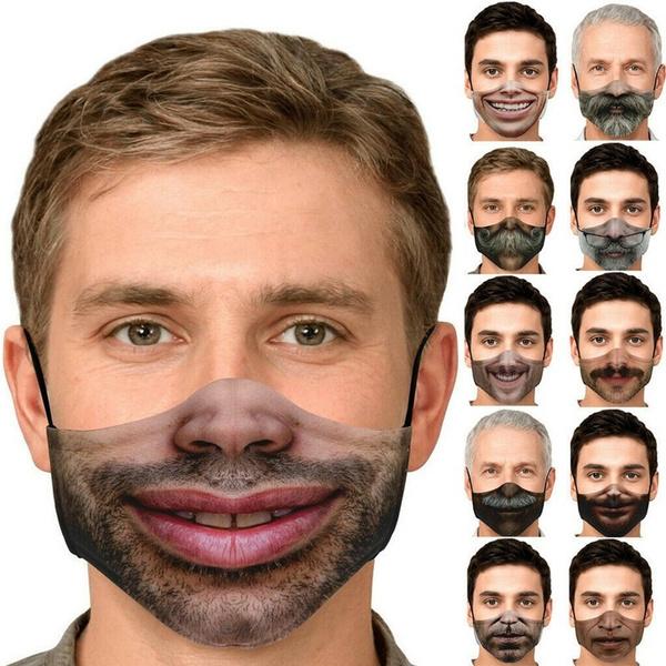 Funny, Cotton, mouthmask, unisexmask
