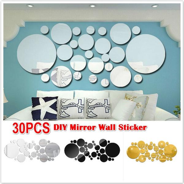 Decor, bathroomdecor, Wall, Stickers