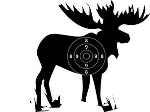 paperdeertarget, Hunting, papertarget, deerhuntingtarget