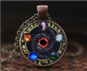 wiccan, Fashion, Key Chain, Jewelry