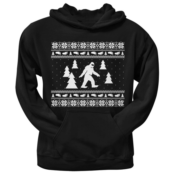 hooded, Christmas, Sweaters, Pullovers
