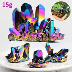 quartz, rystalrainbowcluster, druzystone, crystalgeode