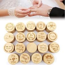 Box, wedding ring, ringboxforwedding, Wooden