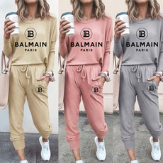Set, Cotton, pullover hoodie, pants