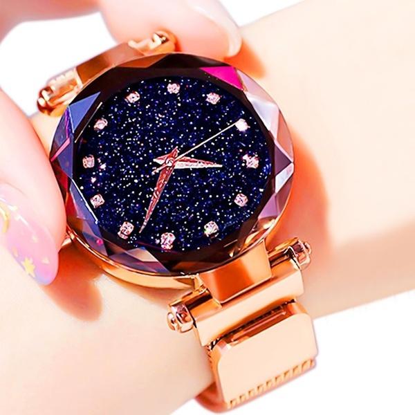 Fashion, rosegoldwatch, gold, Waterproof
