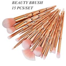 Eye Shadow, DIAMOND, foundationeyeliner, Professional Makeup Brushes