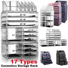 case, Box, Plastic, acrylicmakeuporganizer