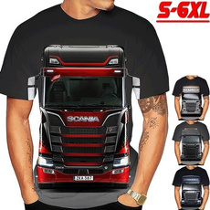 truckdriver, Plus Size, Sleeve, scania