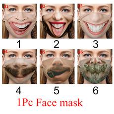 Funny, adultfacemask, printedmask, Masks