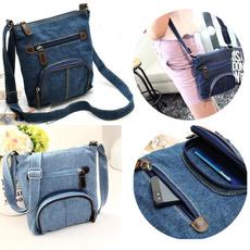 Shoulder Bags, womencausalbag, Totes, Denim