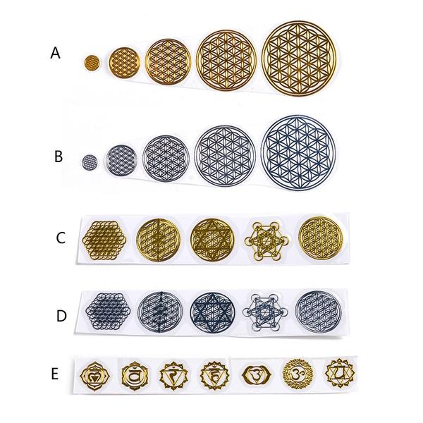 Copper, orgonitesticker, Jewelry, geometriccopper