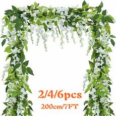 party, wisteria, flowerwall, artificialplant