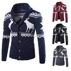 Fashion, sweater coat, christmassweater, slim