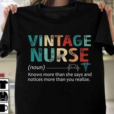 vintagenurse, Fashion, Cotton, Cotton T Shirt