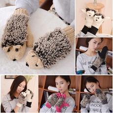 fullfingerglove, woolen, Knitting, Mittens