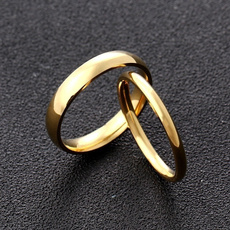 Couple Rings, superfine, wedding ring, gold