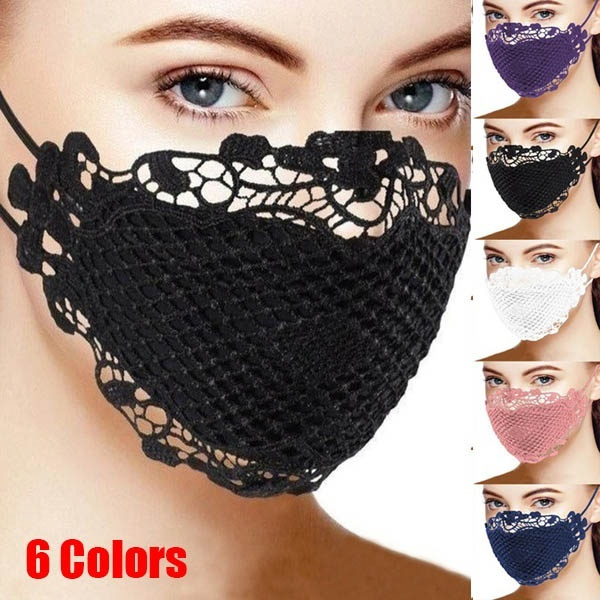 Fashion, dustmask, Lace, Cover