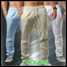 elastic waist, Waist, Casual pants, beachpant