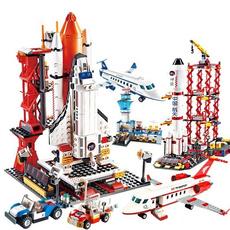 buildingblocksairplane, spaceflightbrick, Toy, Gifts