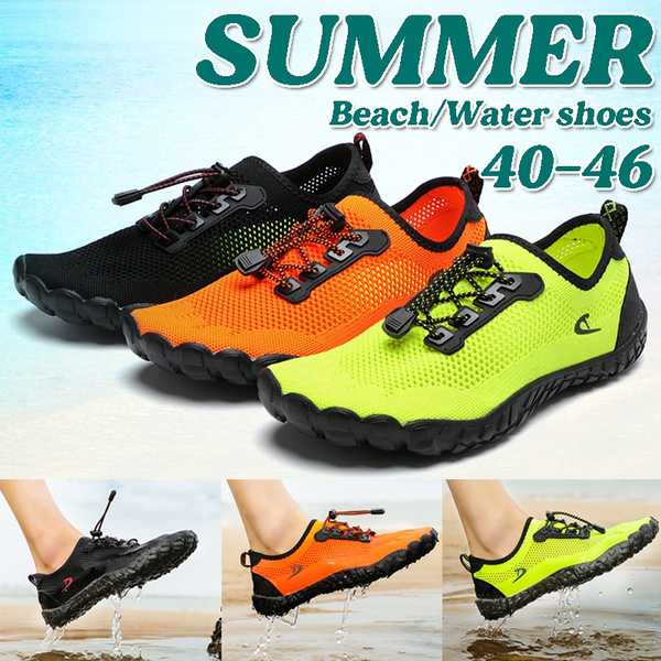 Men's Multifunctional Wading Shoes Water Sport Shoes Quick Dry Aqua Shoes  Barefoot Outdoor Beach Swimming Shoes Water Shoes for Men Plus Size | Wish