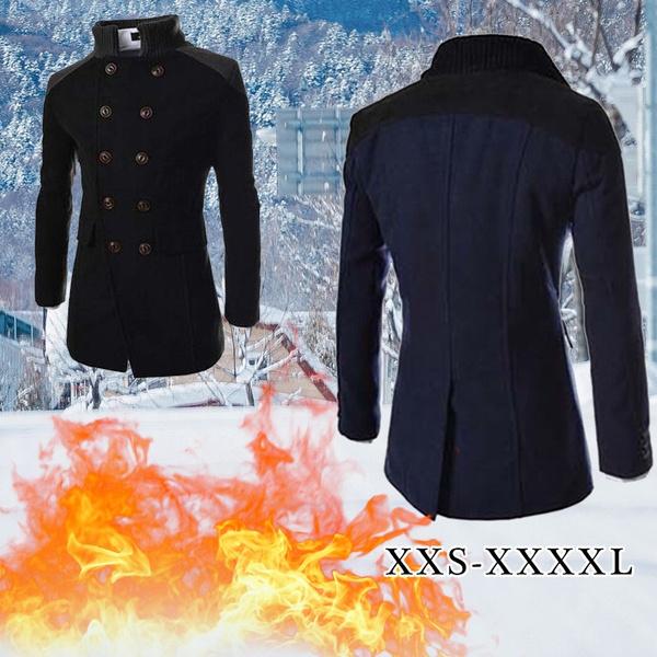 woolencoatmen, woolen, men coat, Plus Size
