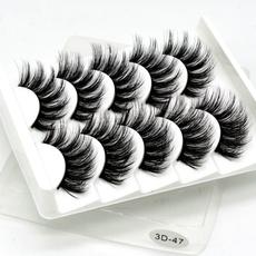 Eyelashes, wispy, False, Beauty