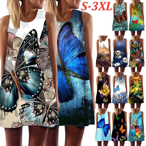 butterflyprint, butterfly, summer dress, Summer